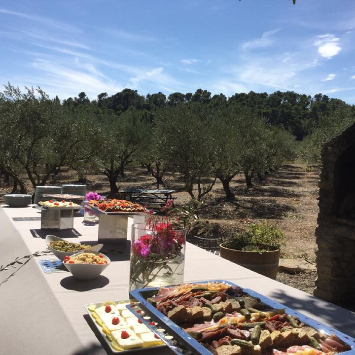 Event Lunch Winery DMC Mice Carcassonne Wine Tasting DMC Carcassonne A la Carte Events
